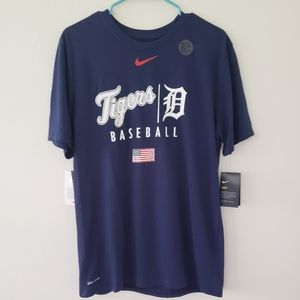 Nike MLB Shirts - NWT Nike Detroit Tigers Tee sz.L